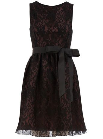 Dorothy Perkins  Black/purple lace ribbon dress: Lace Ribbons, Style, Black Purple Lace, Black Prom Dresses, Black Laces, Lace Overlay, Little Black Dresses, Ribbons Dresses, Lace Dresses