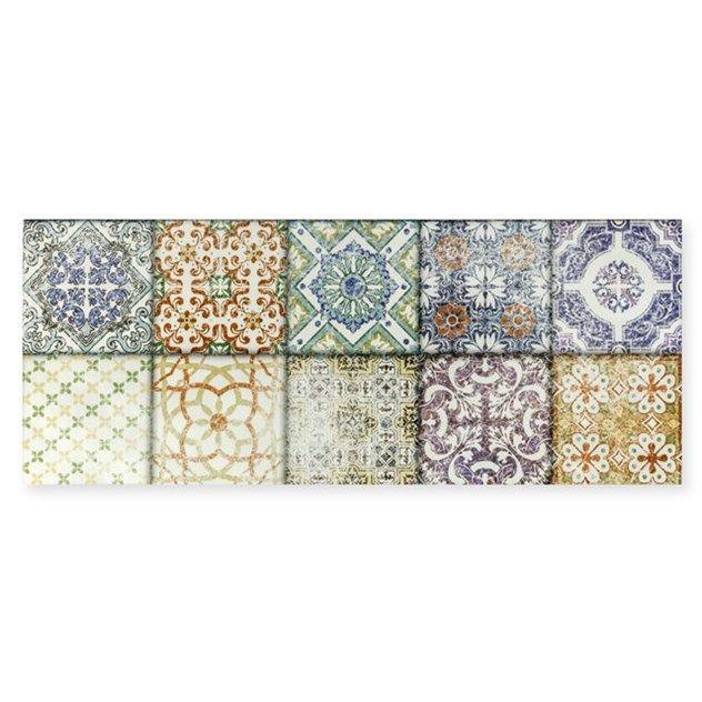 Flis Hill Ceramic Porto Vintage Flerfarget 20x50 5568656986