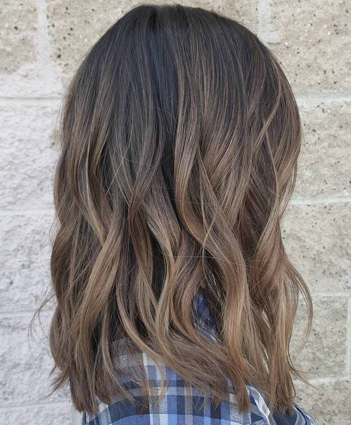 hair color, natural hair color, brown hair with light brown tips, curly hair  #b…