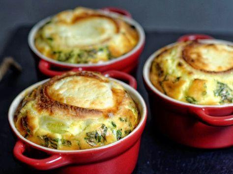 Ma Cuisine et Vous | Flan de poireaux, lardons et ch�vre |  Pr�paration�: 20 minutes     Cuisson�: 35 minutes     Ingr�dients  (pour 3 personnes)�:    3 poirea...