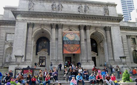 Go to the NYC Public Library.