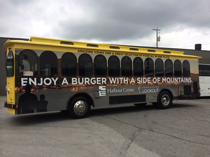 Great marketing on this Vancouver Lookout bus wrap! by FASTSIGNS Vancouver www.fastsigns.com/653
