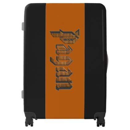 Pagan UGOBAGS large luggage suitcase - calligraphy gifts custom personalize diy create your own