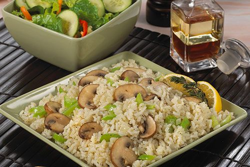 Elegant and Easy Lemon Rice with Vegetables - Kidney-Friendly Recipes - DaVita