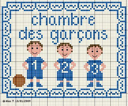 Maison - house - chambre - point de croix - cross stitch - Blog : http://broderiemimie44.canalblog.com/