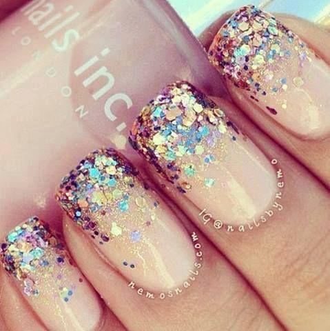 natural base w/ sparkles