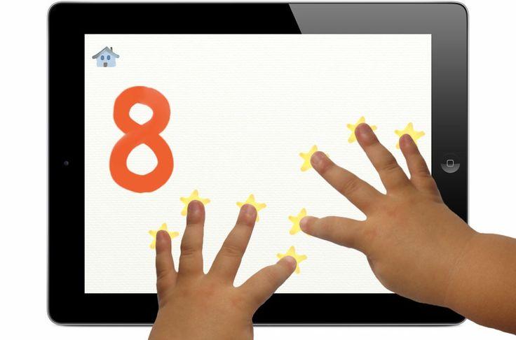 10-dedos es una app educativa que ayuda a los niños a aprender a contar con sus manos.