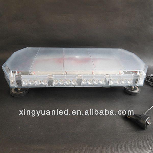 12V 24V 40 LED Warning Strobe Police Mini Lightbar 60cm 40 watt LED blue flash light,emergency led light bar
