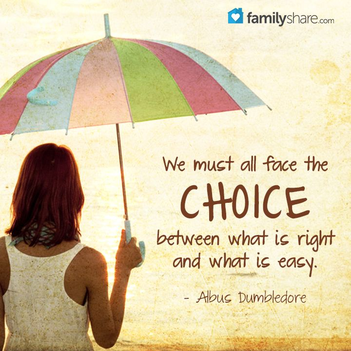 34 Inspirational Quotes On Choices