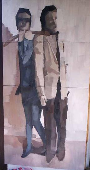 oil painting by Malgorzata Idziak, via Behance