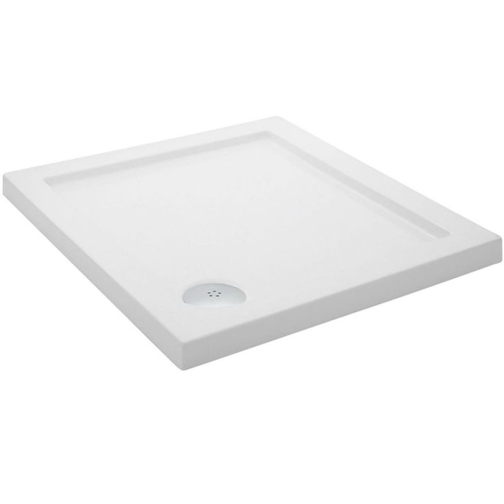 Pearlstone SQUARE Shower Tray   800 X 800mm   Square   Shower Trays    Showers