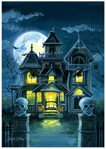 Haunted House by Janet Stever