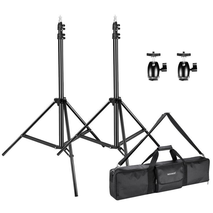 Neewer 28.5ft Light Stands with 2 Tripod Ball Head for HTC Vive VR Video