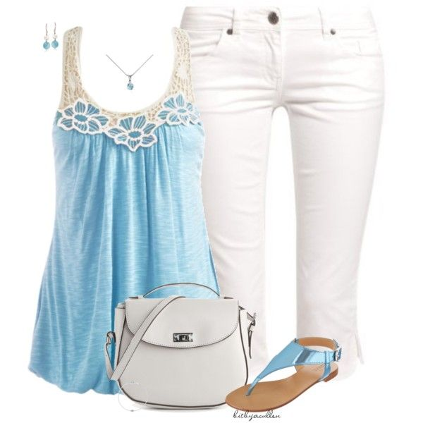 March/Aquamarine, created by bitbyacullen on Polyvore