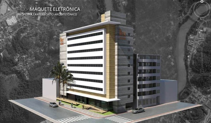 EA+STUDIO Arquitetura - Florianópolis - Santa Catarina - Brasil - Hotel Rex Blumenau