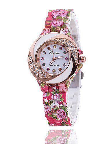 SKLIT Uhren Frau die Explosion der Genfer Außenhandel Stempel beobachten genf Blumendame Tabelle fashion stieg Diamant-Uhr - http://uhr.haus/sklit-watches/sklit-uhren-frau-die-explosion-der-genfer-stempel