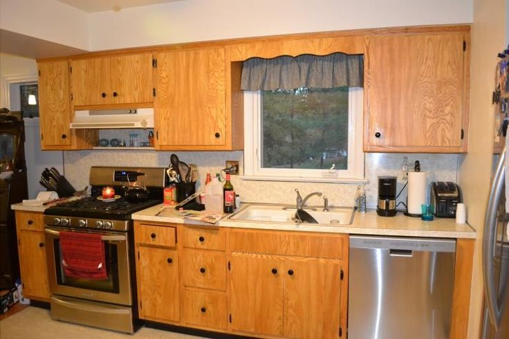 Before U0026 After: MaryAnnu0027s Kitchen Cabinets BEFORE Her Remodel With Cabinets  To Go! #