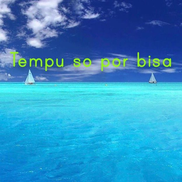 Only time can say  Tempu so por bisa! For translation services contact us at info@henkyspapiamento.com #papiamentu #papiaments #papiamento #creole #language #curacao #bonaire #aruba #caribbean #only #alleen #solamente #só #time #tijd #tiempo #tempo #can #kan #poder #pode #say #zeggen #decir #dizer More learning materials available at henkyspapiamento.com