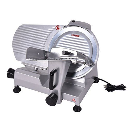 """Tangkula 12"""" Blade Commercial Meat Slicer Deli Meat Cheese Food Slicer Industrial"""