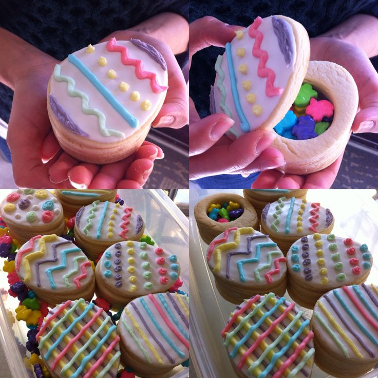 Easter treasure box cookies