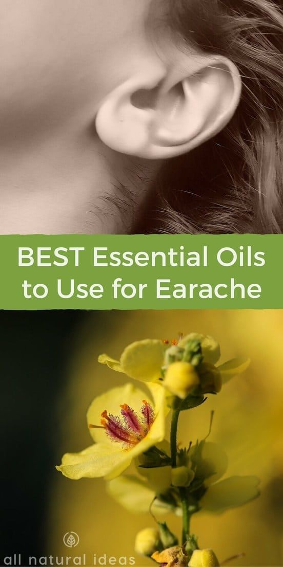 What are some of the best essential oils for earache and how exactly do you use them? And, is there evidence to condone their use? | allnaturalideas.com