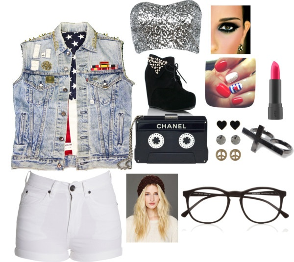 """""""Edgy day look"""" by mermaidnikki on Polyvore"""