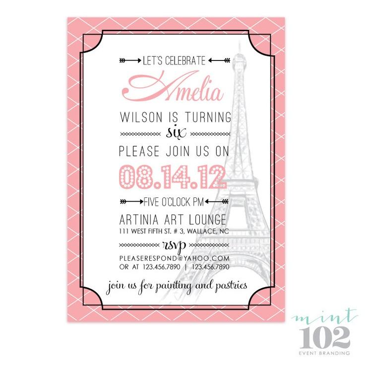 88 best 21st birthday images on Pinterest | Birthdays, Paris party ...
