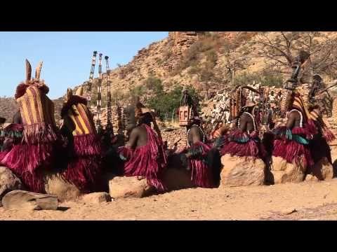 Dogon's Ritual Dance - YouTube