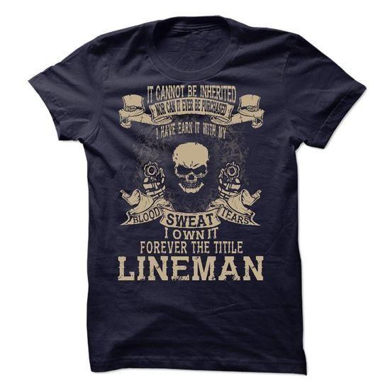 LINEMAN - #teespring #make your own t shirts. SAVE => https://www.sunfrog.com/LifeStyle/LINEMAN-59578250-Guys.html?60505