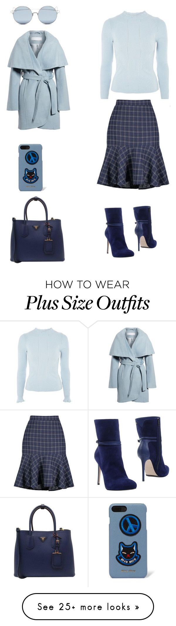 """Başlıksız #1501"" by cevyilmaz on Polyvore featuring Topshop, Le Silla, Prada, Miu Miu, Tahari and For Art's Sake"