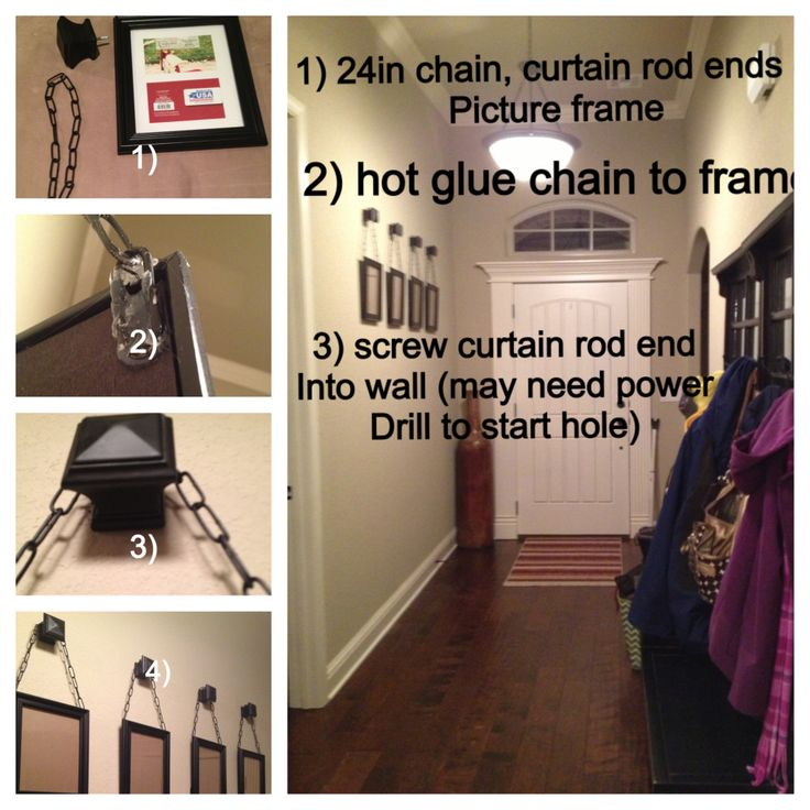 Chain Hanging Picture Frame | Home | Pinterest | Hanging