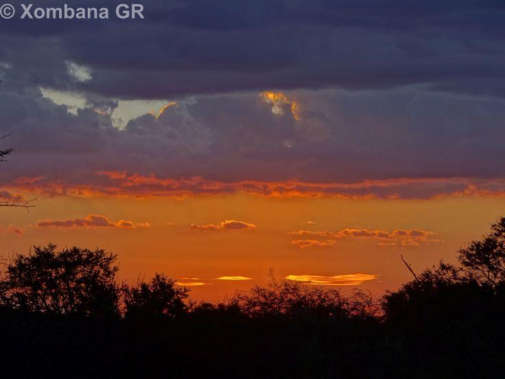 Sunset from the Sundowner Boma @ Xombana