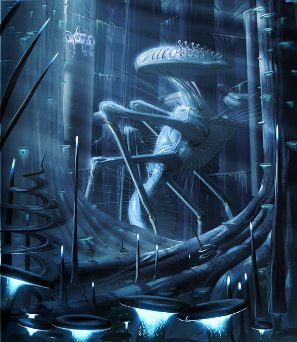 solar system alien concept - photo #33
