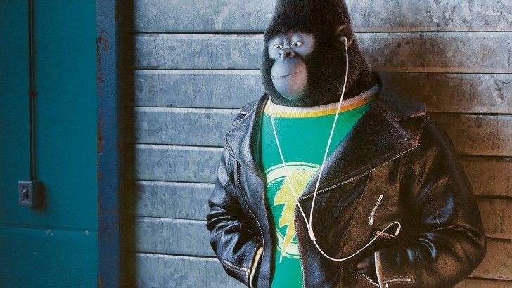 Johnny Sing 2016 Movie Animation Gorilla Wallpaper