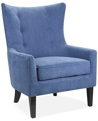 JLA Brie Fabric Accent Chair, Direct Ship - Chairs & Recliners - Furniture - Macy's