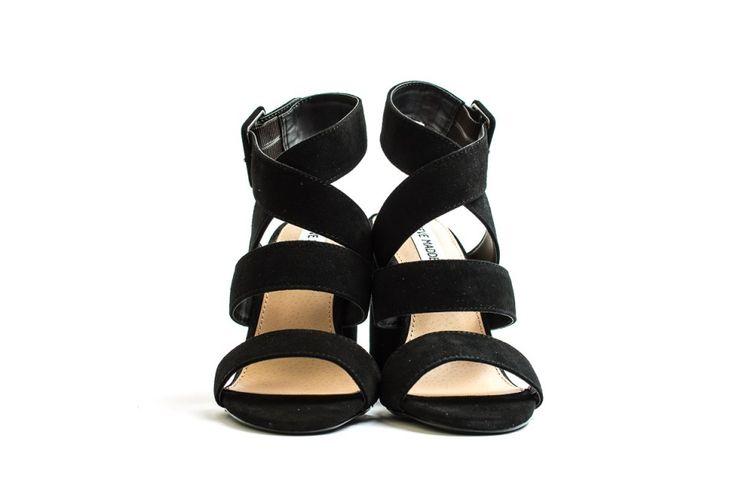 Steve Madden sandali neri modello schiava immagini