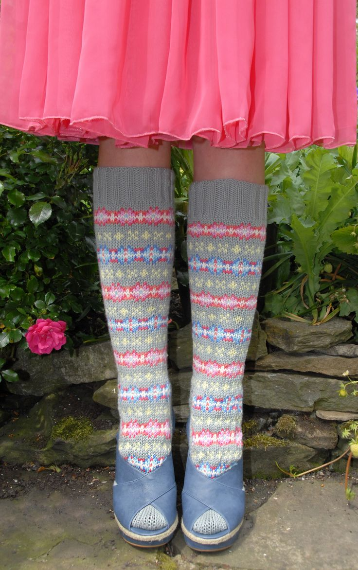 Emma wright- fairisle socks