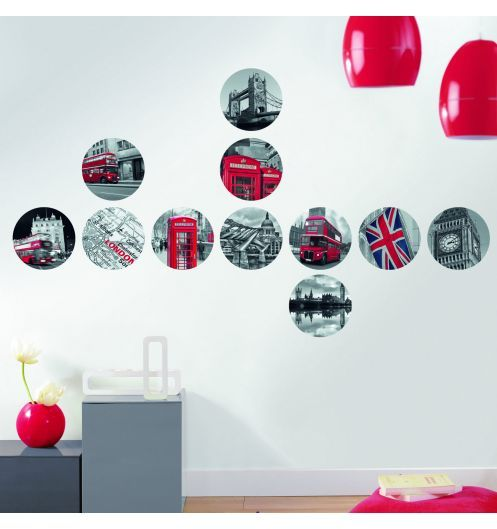 Stickers muraux londres for Deco londres