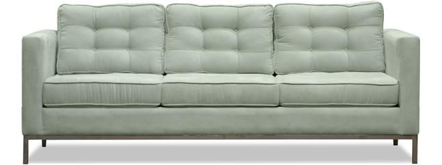 Uno - Sofas | Custom Sofa Sectional Couch | Los Angeles | The Sofa Company- When you can only choose one sofa to make a statement, choose Uno. Featuring stylish tufted cushions with exclusive top stitching, this classy couch is ready for the runway or your living room.