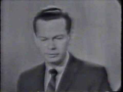 ▶ DAVID BRINKLEY COMMENTARY FROM THE NIGHT OF JFK'S ASSASSINATION - YouTube