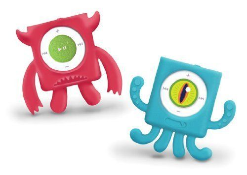 MIX MONSTERS iPod Shuffle 4G Cases – Red-Blue Set of 2 | Free Sample