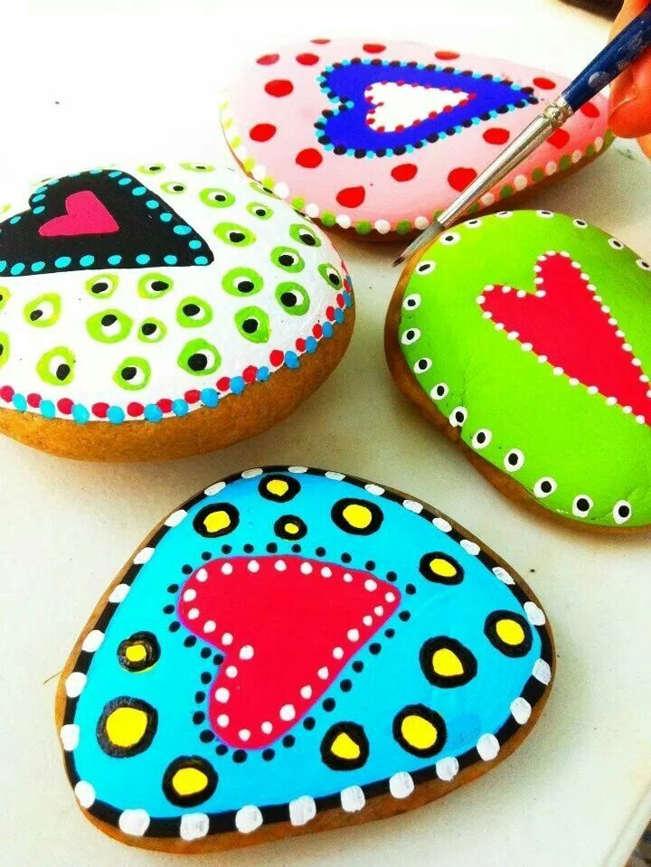 Painting rocks is a classic kid craft, and perfect for wiling away the school holidays this summer! Description from pinterest.com. I searched for this on bing.com/images