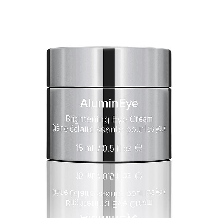 ALUMINEYE A rich, anti-aging eye cream that significantly improves the appearance of dark circles, fine lines and puffiness in any skin type.