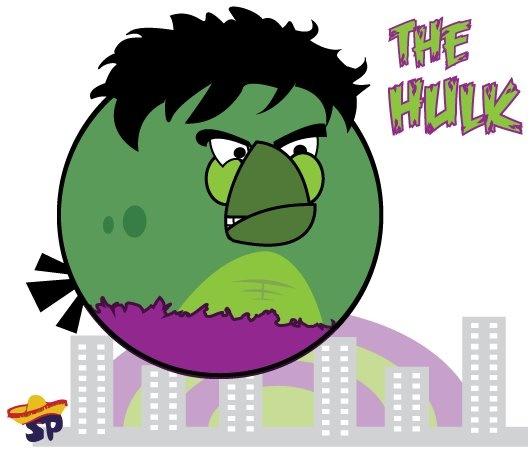 Angry Hulk Bird? YES!!!