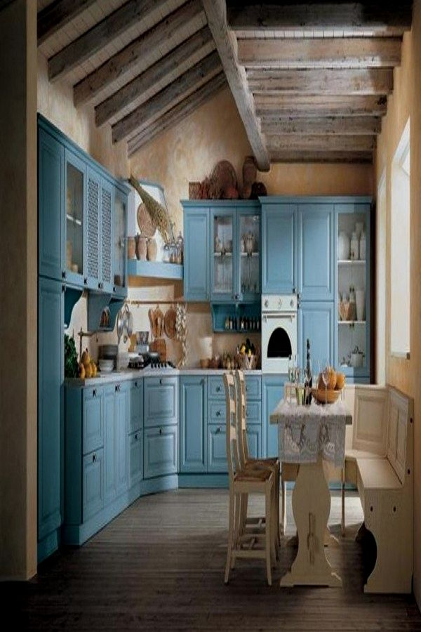Awesome Shabby Chic Kitchen Decor Plans To Consider For Your Cabin Shabby Chic Kitchens Shabby Chic Kitchen Cabinets Shabby Chic Kitchen Country Chic Kitchen