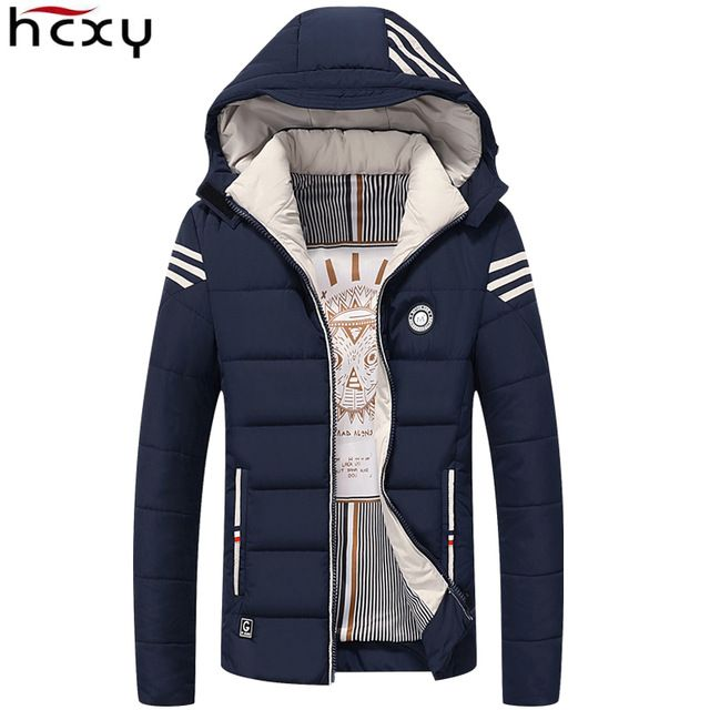 3ee9701c8e84 $32.85| Discount Price -53% | HCXY Men Winter Jacket 2017 Brand Casual Mens  Jackets And Coats Thick Warm Jacket Men Parka Outerwear Coat Plus Size  4XL|Free ...