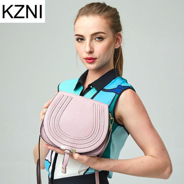 54.21$  Know more  - KZNI genuine leather bags for women fashion messenger bags ladies hand bags bolsas femininas bolsas de marcas famosas L121832