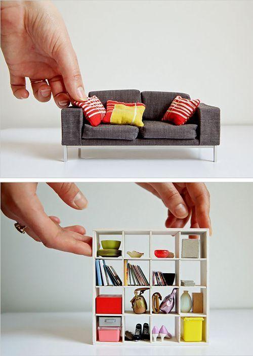¿Por qué no tuve una sala y una librería así?