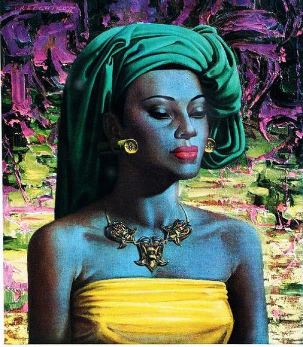 Tretchikoff - 'Balinese Woman'