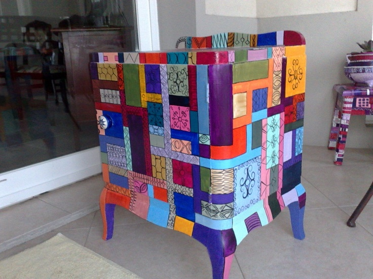 60 best images about muebles pintados a mano on pinterest - Muebles pintados a mano ...